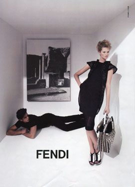 Karl Lagerfeld for Fendi
