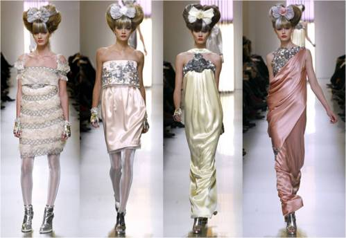 Karl Lagerfeld for Chanel Haute Couture Spring 2010