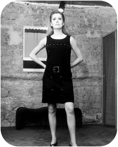 Catherine Deneuve in Yves Saint Laurent
