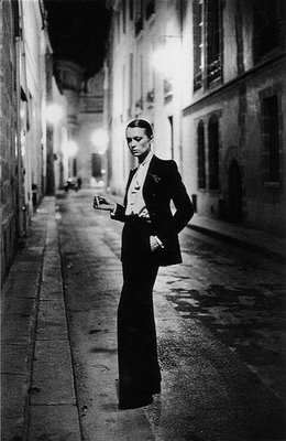 Kate Moss in Yves Saint Laurent le Smoking Suit