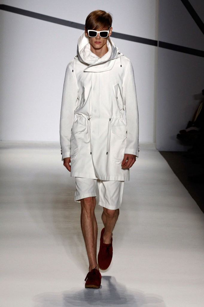 All White Outfit General Idea Spring/Summer 2011