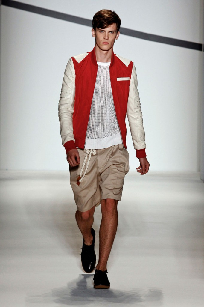 White & Red Jacket General Idea Spring/Summer 2011