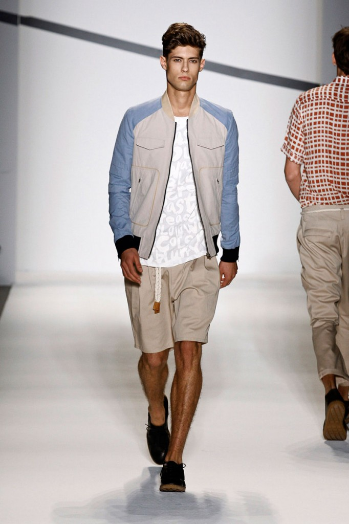 Sky Blue & White Jacket General Idea Spring/Summer 2011