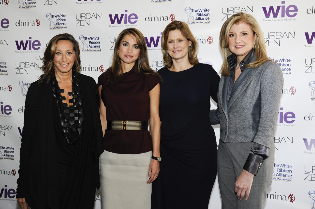Donna Karan, Queen Rania of Jordan, Sarah Brown, Arianna Huffington