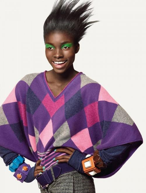 Jeneil Williams - United Colors of Benetton F/W 2009