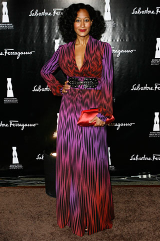 Tracee Ellis Ross in Gucci