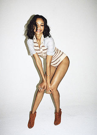 Zoe Saldana for Nylon Magazine