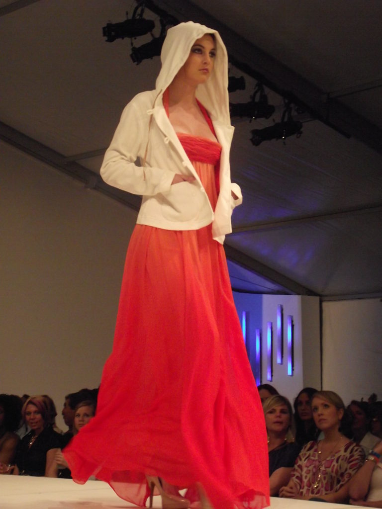 Anjelika Krishna at Charleston Fashion Week 2011