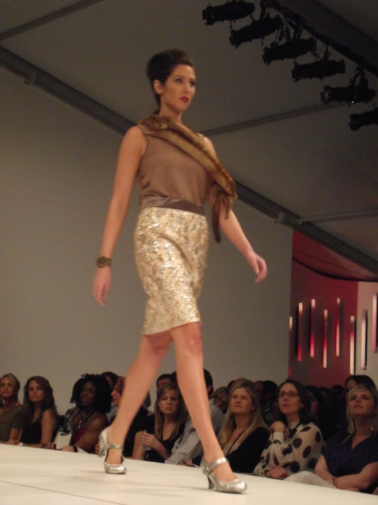 Mary Labberton at Charleston Fashion Week 2011