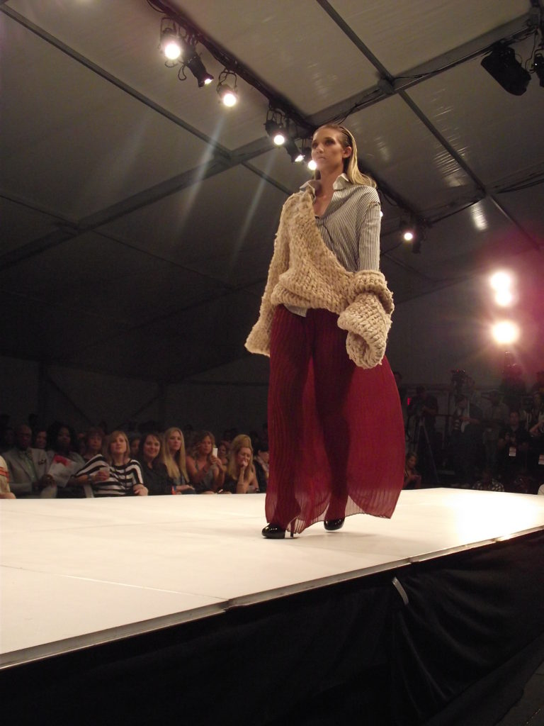 Stephanie Mejia at Charleston Fashion Week 2011