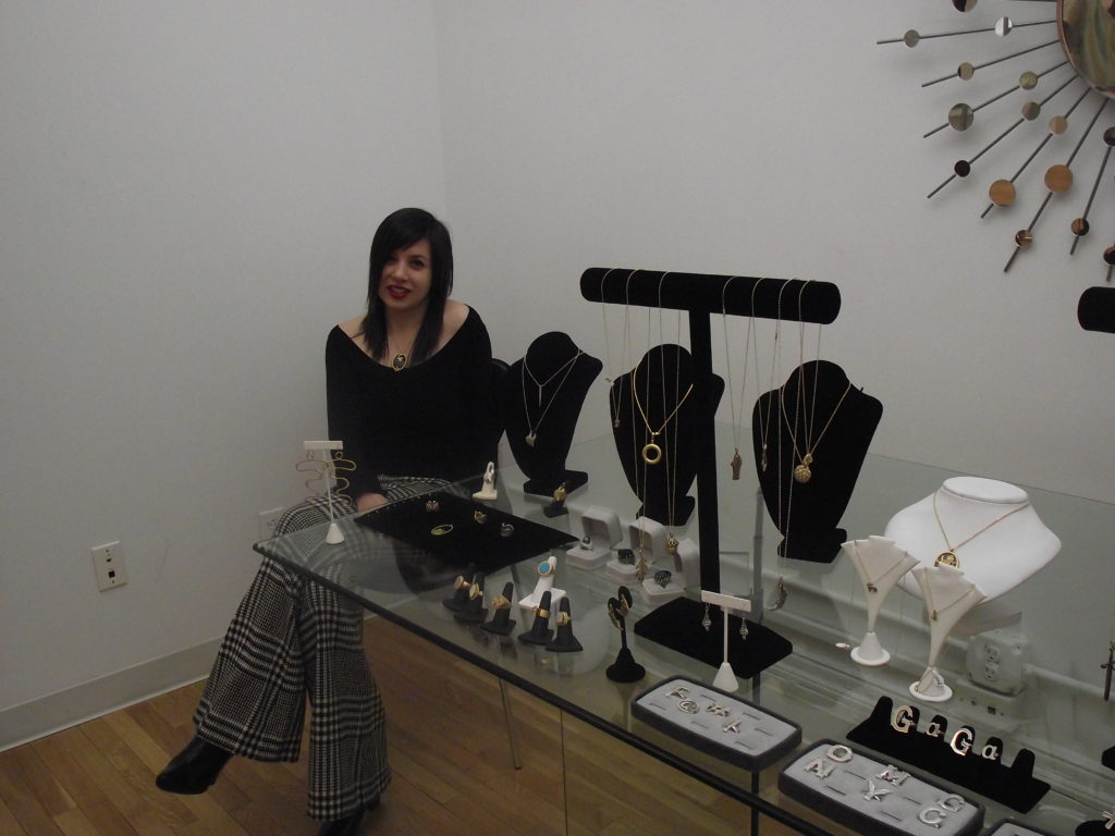 Wendy Brandes Fine Jewelry Designer and Blogger with her Jewelry
