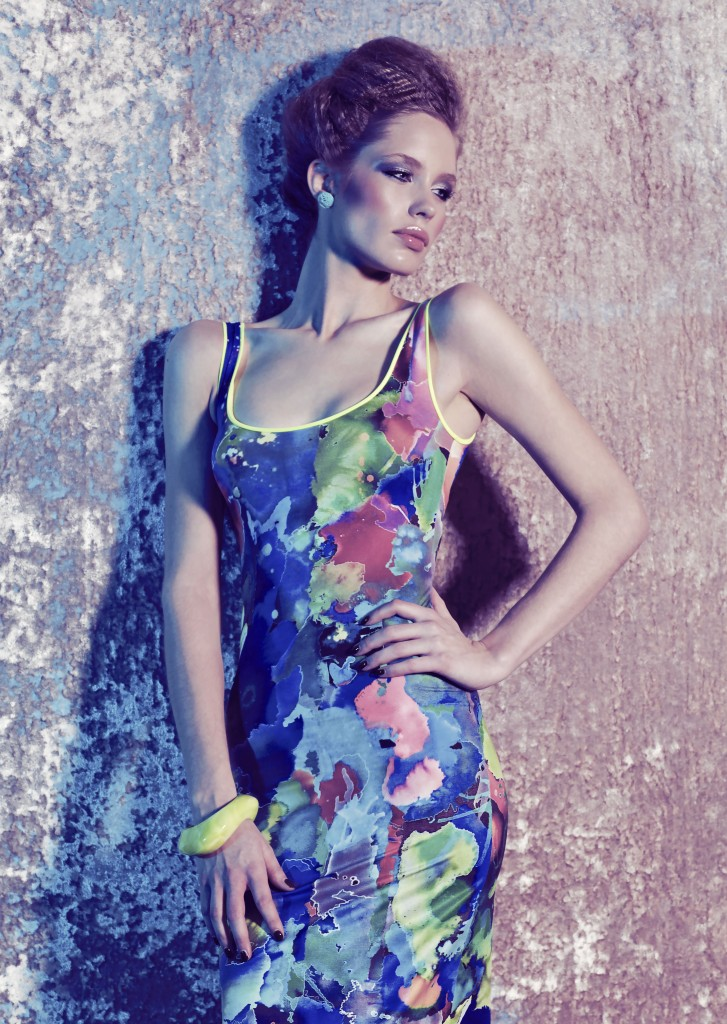 Blue Paradise dress by Robb & Lulu