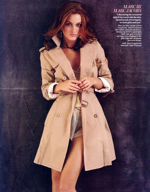 Leighton Meester in InStyle Magazine
