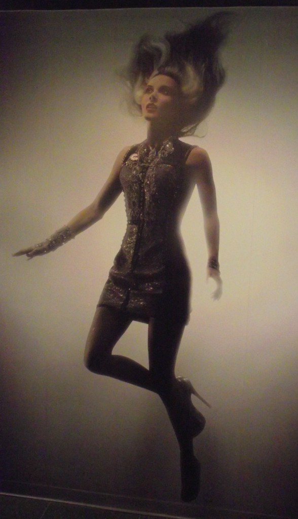 Daphne Guinness photo from Daphne Guinness Exhibition at FIT Photo Credit: LoudPen/de la Pen