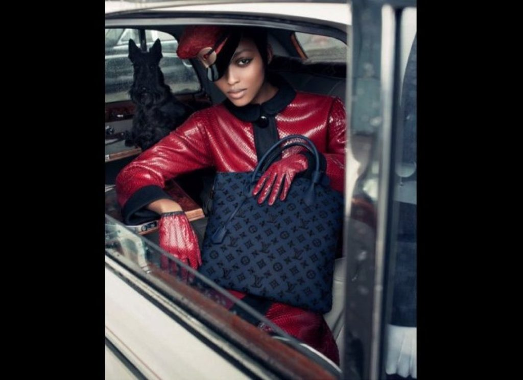 Nyasha Matonhodze for Louis Vuitton F/W 2011