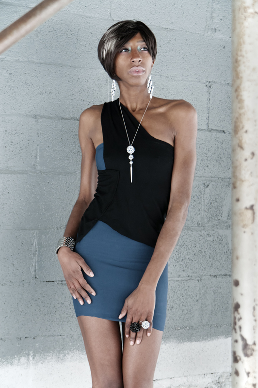 @TheNetworkFam Model Kiyauna Kingsberry in Kimbo Dress and k2o by Karen Ko Jewelry