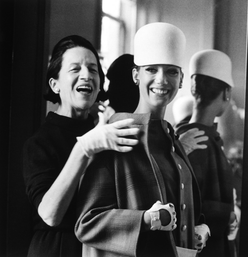 Portrait of Diana Vreeland and Marissa Berenson; Photograph by James Karales