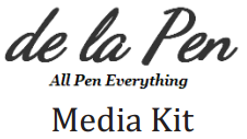 de la Pen media kit button
