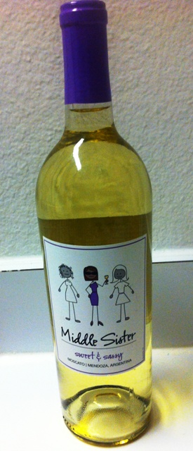 My Sweet & Sassy Moscato by Middle Sister Wines