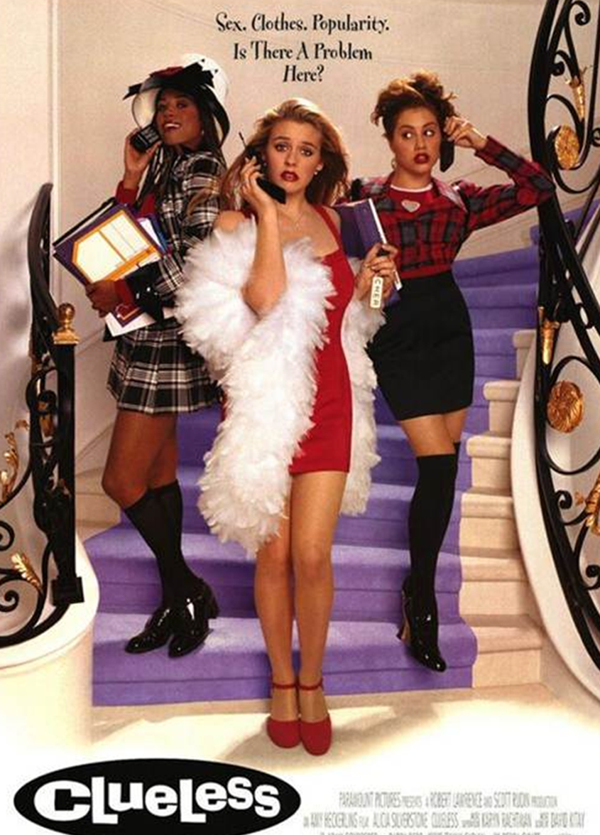 Clueless Movie Poster (Image Found on Google)