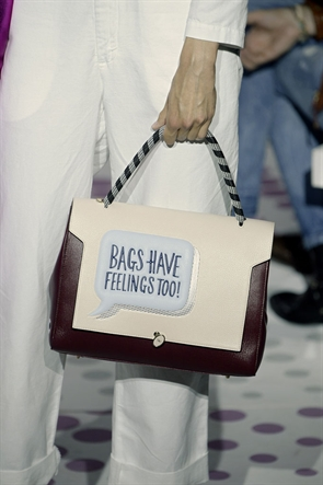 Anya Hindmarch S/S 2015 (Image from LondonFashionWeek.co.uk)