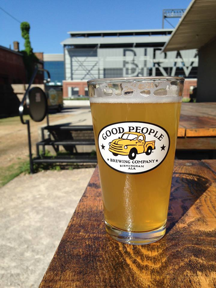 Beer from Good People Brewing Company (Photo courtesy of Good People)