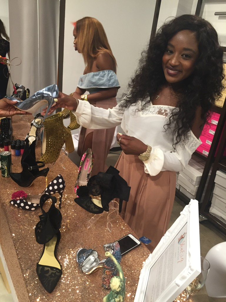 Asya, Co-Owner of ShuEsq at Fashion X Dallas 2016 (Image by LoudPen)