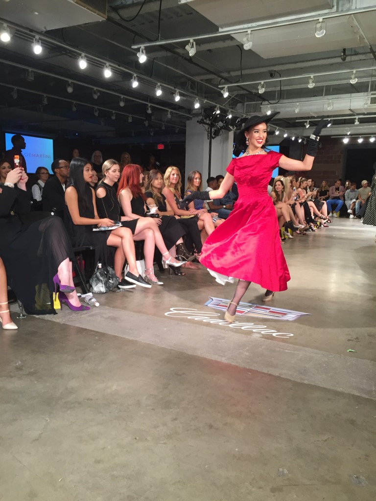 Vintage Martini at Fashion X Dallas 2016 (Image by LoudPen)