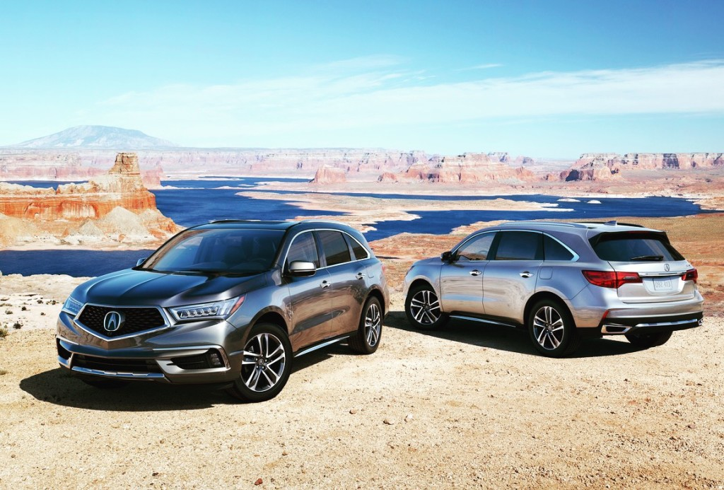 Acura MDX (Image courtesy of Acura)