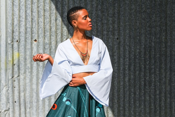 Photo Credits: Editorial Name: AfriDally Photographer: Emmanuel Lopez  Creative Director, Stylist, Makeup Artist: LoudPen Models: Danielle Mia Moore and Greg Peoples Casting & Production: 8515 Designers: Mory Jay by Memory Jora and BabaAfrik Outfits Jewelry: Strut  Makeup: Civilized Cosmetics  Publication: de la Pen...All Pen Everything Publisher ISLP