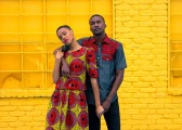 Danielle Mia Moore and Justin Collins model for AfriDally Editorial. Styling and Photography by LoudPen