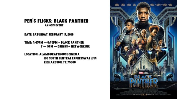 Pen's Flicks: Black Panther (Graphic by 8515)