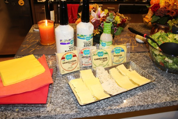 Follow Your Heart Vegan Cheese + Salad Dressing (Items provided by Follow Your Heart; Image by LoudPen)